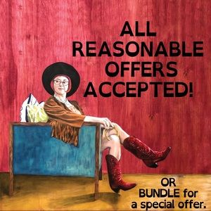 REASONABLE OFFERS ACCEPTED ❤️🙌🌈